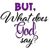 what does god say